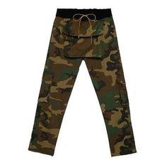 Hip Hop Large Pocket Buckle Drawstring Kanye West Loose RHUDE Pants – Benovafashion Camouflage Pants, Camo Pants, Casual Pants, Men Casual, Harem Shorts, Military Women, Jogger Sweatpants, Kanye West, Street Wear