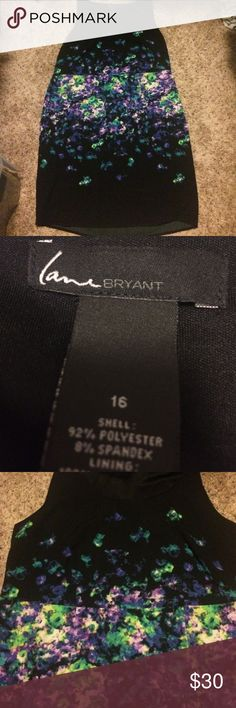 Lane Bryant Dress Lane Bryant dress - perfect for a business setting or night out. Lane Bryant Dresses