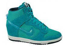 Nike Dunk Sky Hi Turbo Green