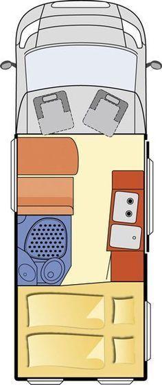Resultado de imagem para best ever camper van with bathroom