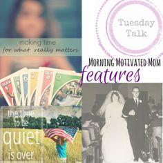 Tuesday Talk Linkup 26 {with Featured Posts} Featuring @rebekahandjesus @shortmrsgray @KaysePratt