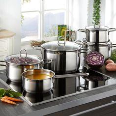 5-teiliges Kochtopfset von ELO - hochwertige Qualität für Ihre Küche