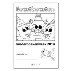 Lesmateriaal Kinderboekenweek Feest - http://www.onderwijsstudio.nl/lesmateriaal-kinderboekenweek-2014/