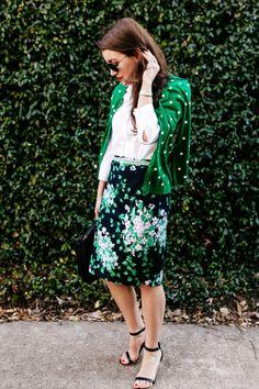 Talbots x O Magazine - Dallas Wardrobe // Fashion Prep Style, My Style, Dallas Wardrobe, Printed Skirts, Dress Skirt, Dirndl Skirt, Midi Skirt, Talbots, Spring Summer Fashion