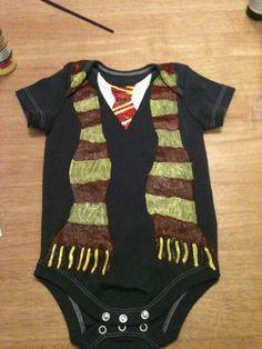 Harry Potter Baby On Pinterest Harry Potter Onesie Harry Potter ...