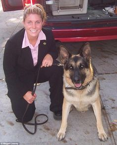 Reunited at last: Woman bomb disposal expert saves her dog from death-row after they were both blown up in Afghanistan