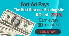Discover How To Generate Instant Commissions Every 30 Minutes In Autopilot!! Results Guaranteed!! Follow Our Winner Strategy! Get 225% Profit! No Refer. >> Click Here For More Information And Take Action Now!: http://marketing-content.net/fortadpays/landing/en #FortAdPays #FAP #MakeMoney #GetPaid #OnlineBusiness #MLM #multilevel