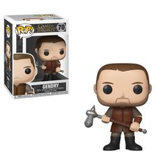 Funko Pop Game of Thrones Gendry Pop! Vinyl Figure From HBO's Game of Thrones comes the Game of Thrones Gendry Pop! Vinyl Figure This vinyl figure measures approximately 3 tall. It comes packaged in a window display box. Ages 3 and up. Game Of Thrones Figures, Game Of Thrones Facts, Pop Game Of Thrones, Game Of Thrones Quotes, Game Of Thrones Funny, Gendry Game Of Thrones, Funko Game Of Thrones, Maisie Williams Sophie Turner, Game Of Thrones Tattoo