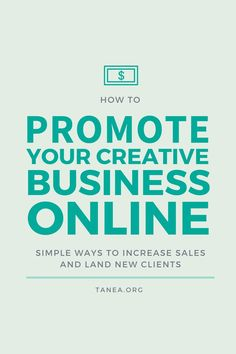 How to promote your creative business online
