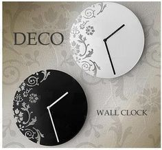 Laser cut clock face