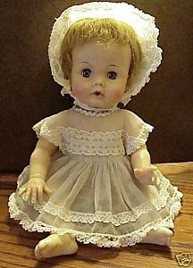 Betsy Wetsy  was a doll I owned -- I loved it -- feed the bottle and she wet her diaper.  LOL  practiced early on changing the diapers!