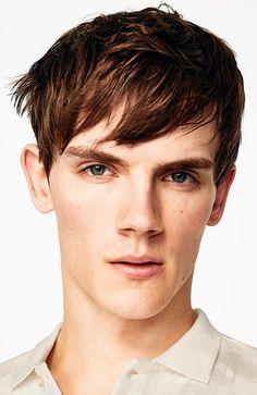 Men's Hairstyles Fringe. Photo: Zara. #menshairstyles #menshair #fringe #shorthair