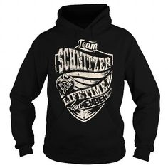 Awesome Tee Team SCHNITZER Lifetime Member (Dragon) - Last Name, Surname T-Shirt T shirts