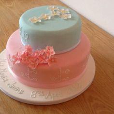 BabyGirl MMI's Christening Cake