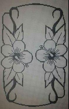 sömn Cross Stitch Bookmarks, Cross Stitch Borders, Cross Stitch Flowers, Cross Stitch Designs, Cross Stitching, Cross Stitch Patterns, Doily Patterns, Bead Loom Patterns, Crochet Patterns