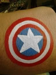 Image result for superhero face painting