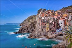The Cinque Terre Riomaggiore afternoon