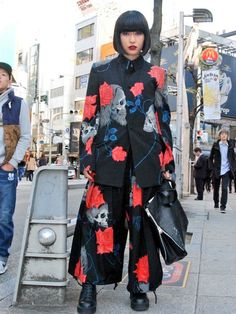素子さんのコーディネート Asian Street Style, Tokyo Street Style, Japanese Street Fashion, Tokyo Fashion, Harajuku Fashion, Asian Style, Look Fashion, Fashion Outfits, Fashion Design