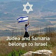 Judea and Samaria belongs to Israel.