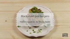 Nova receita em vídeo: hambúrgueres de feijão frade ideais para o verão!  #blackeyedpea #burgers #vegan #videorecipe