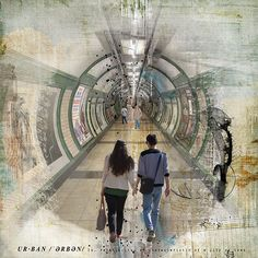 Tunnel by Julie-Scrapaholic scrapbook layout featured in gallery standouts