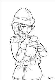 Female Praetorian Guardsman drinking tea by Lutherniel on DeviantArt Warhammer 40k Art, Warhammer Fantasy, Anime Oc, Anime Angel, Warhammer Imperial Guard, Character Art, Character Design, Steampunk, Anime Military
