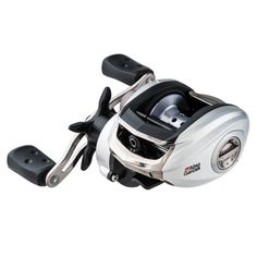 Abu Garcia Silver Max Low Profile Reel LP, 6.4:1 Gear Ratio, 6 Bearings, 18 lb Max Drag, Left Hand, Boxed
