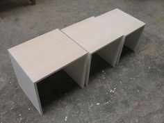 Nest of tables... Showing one of the many design combinations you can create.