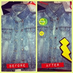 Part 2 of 5 of a Custom Acid Wash Denim Vest I designed.    If interested in any of my products contact me at www.twitter.com/@KoolJaye on Twitter or send me a note/msg on Pinterest.