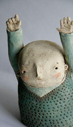 1000 images about ceramic figures on pinterest ceramic for Sculpture contemporaine
