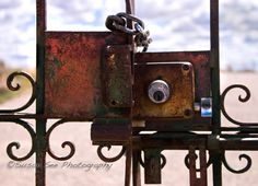 Gate into Lady of Sorrows Cemetery - Bernalillo, New Mexico ©Susan See Photography