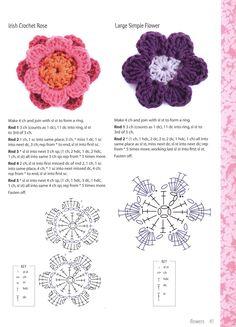 fiorellini uncinetto | Il blog di Vera Maglia&Uncinetto