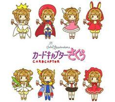 Sakura card captor chibi