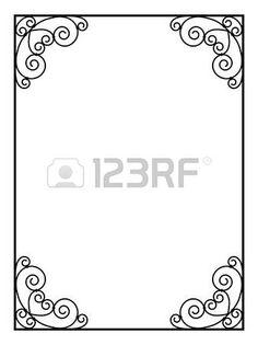 Cadre Bordure 29 meilleures images du tableau bordure cadre décorative | cadre