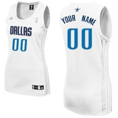 Customized Women NBA Home Durable Polyester Swingman Dallas Mavericks White  Adidas Jerseys Memphis Grizzlies Jersey e2a9fa76a