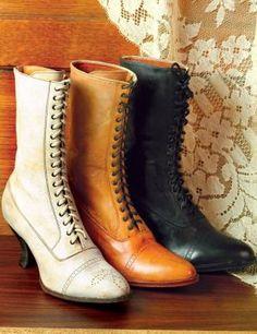 victorian bridal boots