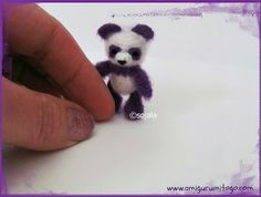 purple panda thread crochet pattern