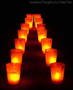 halloween sidewalk lanterns, crafts, halloween decorations, lighting, outdoor living, seasonal holiday decor