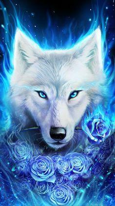 O lobo e as rosas