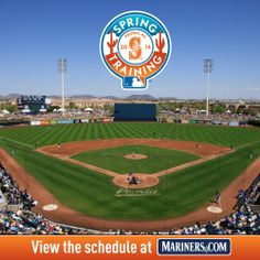 #Mariners announce 2014 Spring Training schedule. Click the photo to view. 11/19/13