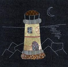 FAROS - Eva Gustems - El Color de la Selva Anni Downs, House Quilts, Landscape Quilts, Applique Quilts, Folk Art, Embroidery, Sewing, Crafts, Color