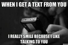 boy, cute, text, like, love, quote, smile, friendship, girl, phone, Relationship, talking, sweet, quotes, smiling