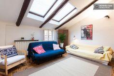 Salone, zona giorno con divano letto - The lounge