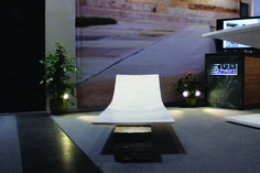 Stone Lounge made of natural stone Stone Interior, Outdoor Furniture, Outdoor Decor, Sun Lounger, Natural Stones, Home Decor, Chaise Longue, Decoration Home, Room Decor