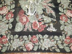 For Sale on - A Mid-Century gallery size Besserabian Kilim with floral elements throughout. Rugs On Carpet, Carpets, Kilims, Westerns, Weaving, Mid Century, Antiques, Gallery, Floral