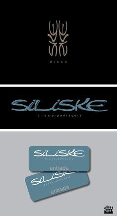Diseño Logotipo discoteca Siliske Peñíscola. Diseño Triloby estudio