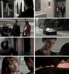 Christian grey and Anastasia steel - fifty shades of grey movie