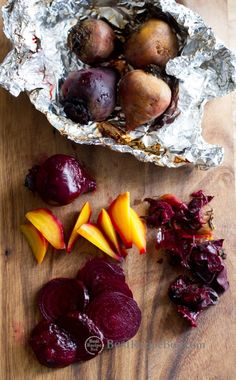 How to Roast Beets in The Oven from @BestRecipeBox on BestRecipeBox.com