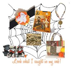 """""""Look what I caught in my web!"""" by artbymarionette ❤ liked on Polyvore featuring art"""