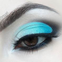 Sea Tide semi cut crease makeup with @lizbreygel   Browse more looks reviews…